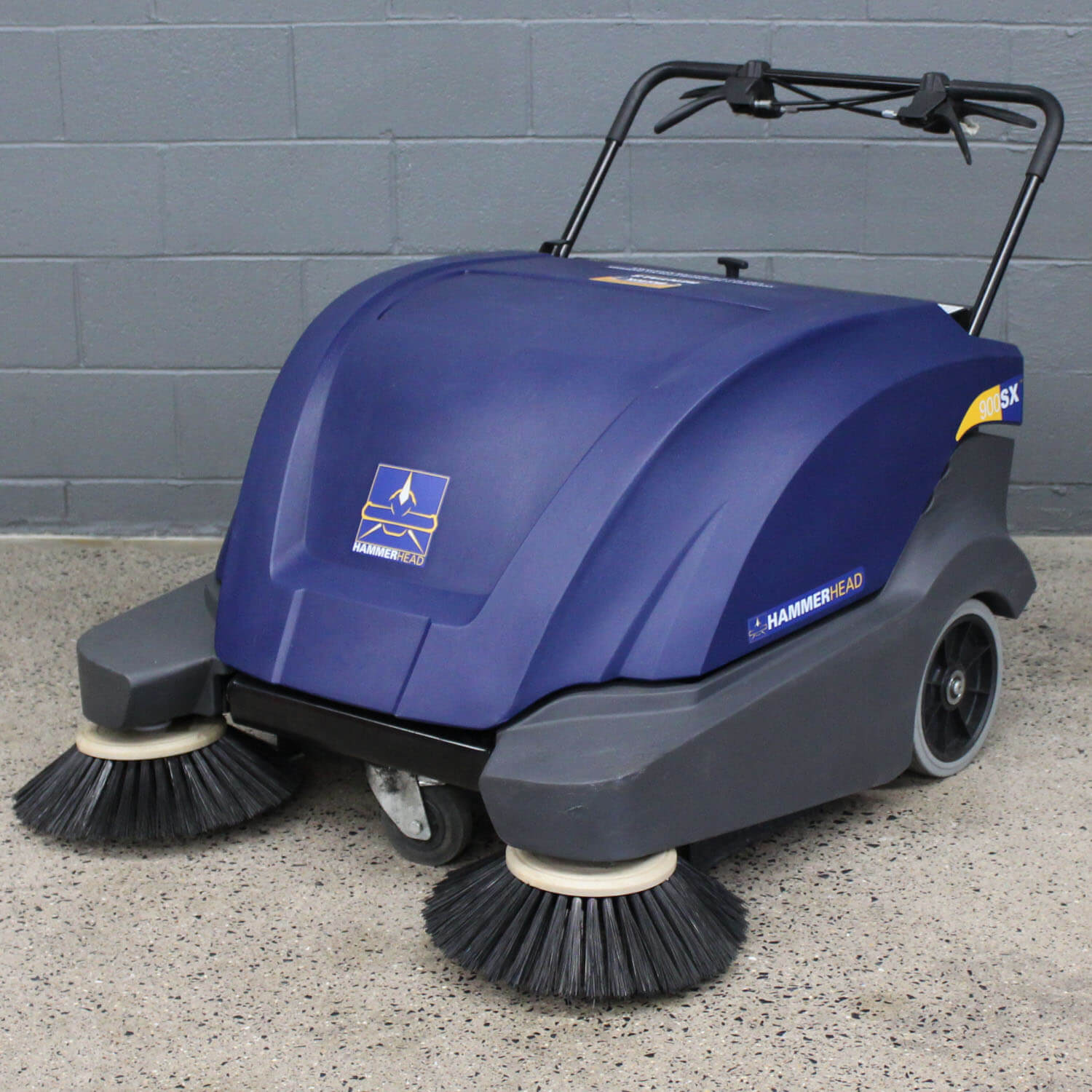 900sx Electric Walk Behind Sweeper Hammerhead Cleaning Equipment