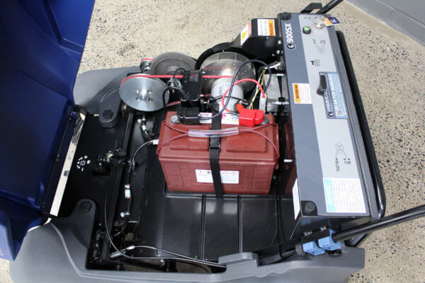 900SX Sweeper Battery and Motor
