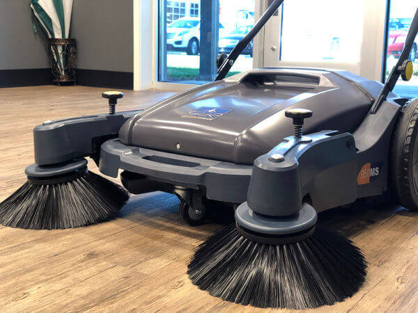 HammerHead 950MS Manual Walk-Behind Sweeper