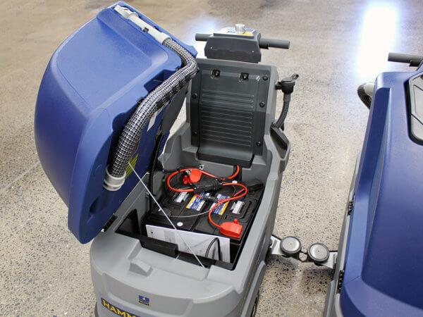 HammerHead 500RSX Floor Scrubber Batteries