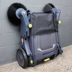 950MS Manual Sweeper Compact Storage Folding
