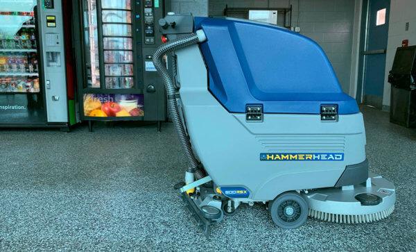 HammerHead Walk Behind Floor Scrubbers