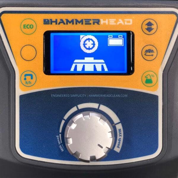 HammerHead 500RSX Scrubber Control Panel