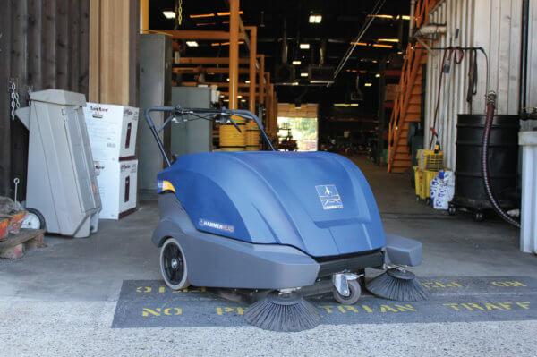 HammerHead 900SX Electric Walk-Behind Sweeper