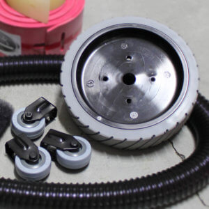 Scrubber Sweeper Wheels Replacement Parts