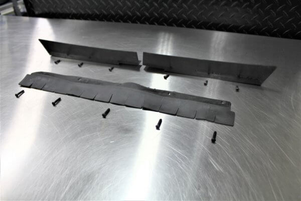 950MS Sweeper Skirting Flaps Replacement Parts