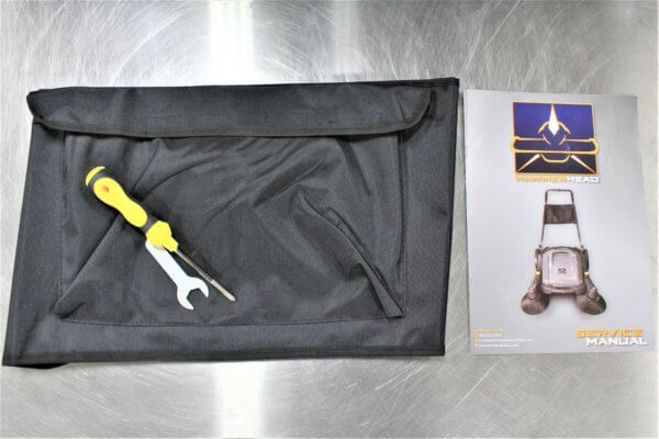 950MS Satchel Replacement with Tools and Manual