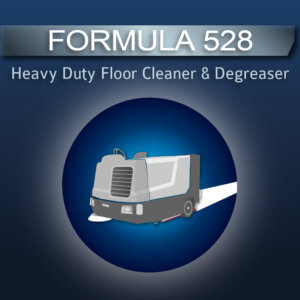 Formula 528 Floor Cleaner & Degreaser for Scrubbers