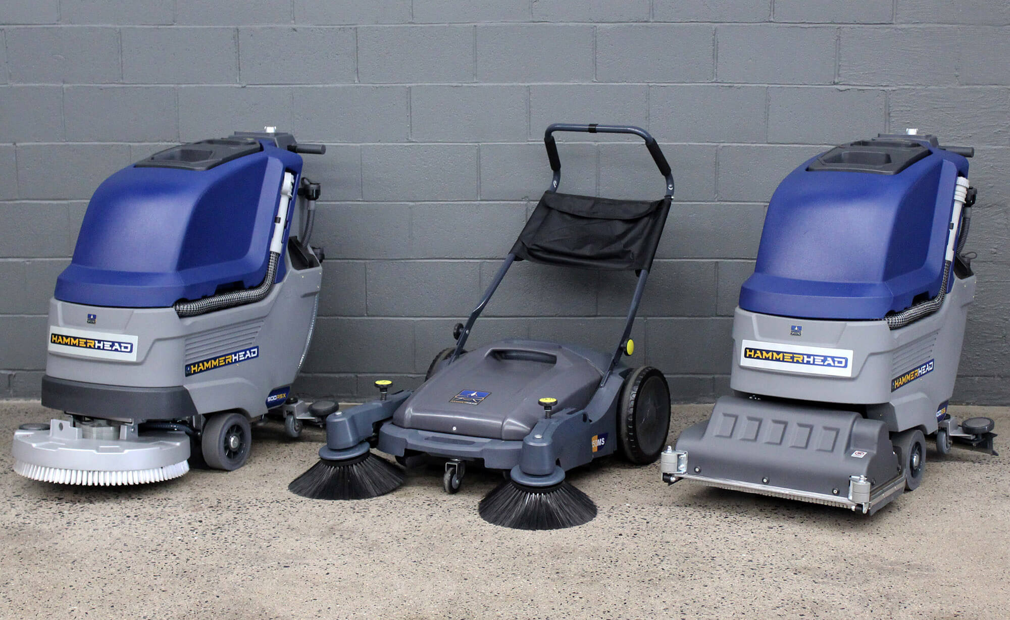 Hammerhead Floor Scrubbers and Sweepers