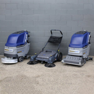 Hammerhead Shop Scrubbers and Sweepers