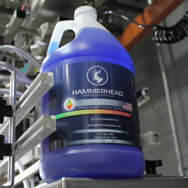 Hammerhead Spectrum Floor Cleaning Chemical for Scrubbers
