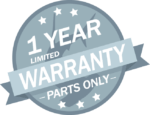 1-Year Limited Parts Warranty