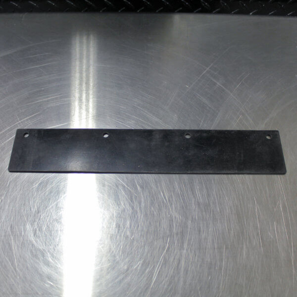 900SX Sweeper Side Rubber Flap Replacement Part