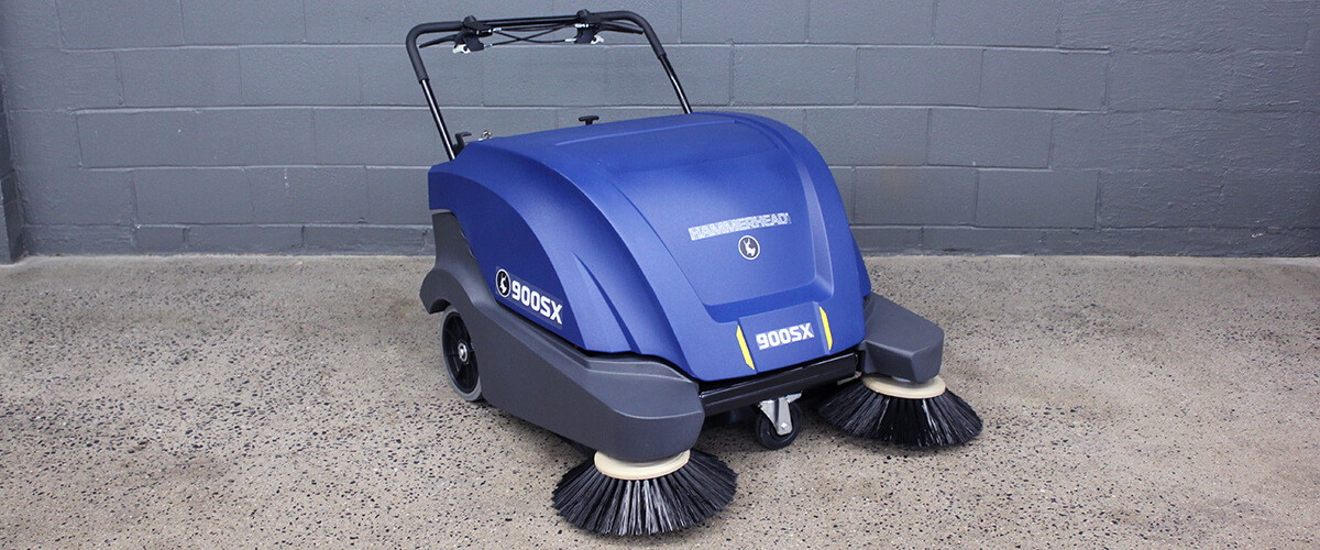 900SX Battery-Powered Walk-Behind Sweeper